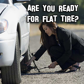 How To Change Your Flat Tire Alone and Safely